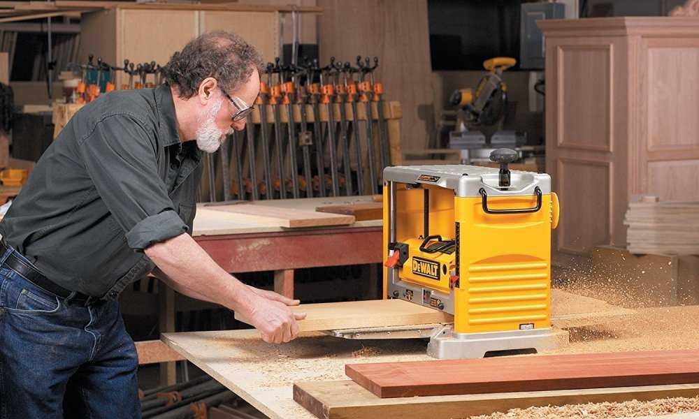 Sharpen Wood Planer Blades