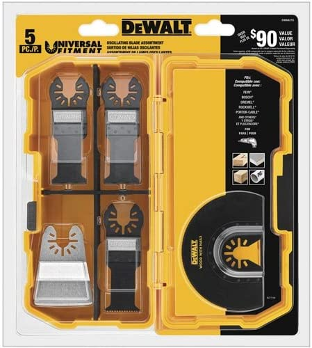 dewalt oscillating tool blades kit dwa4216 image