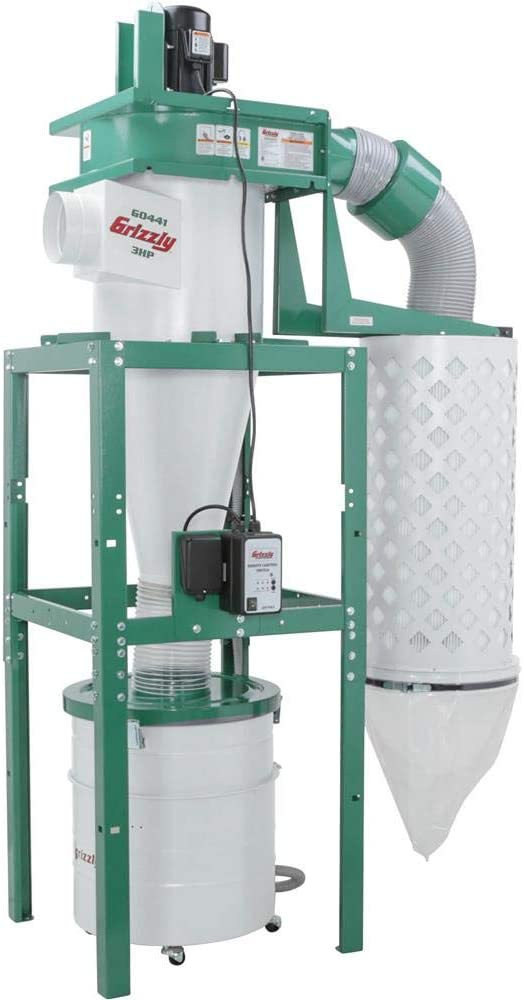 grizzly industrial g0441 cyclone dust collector