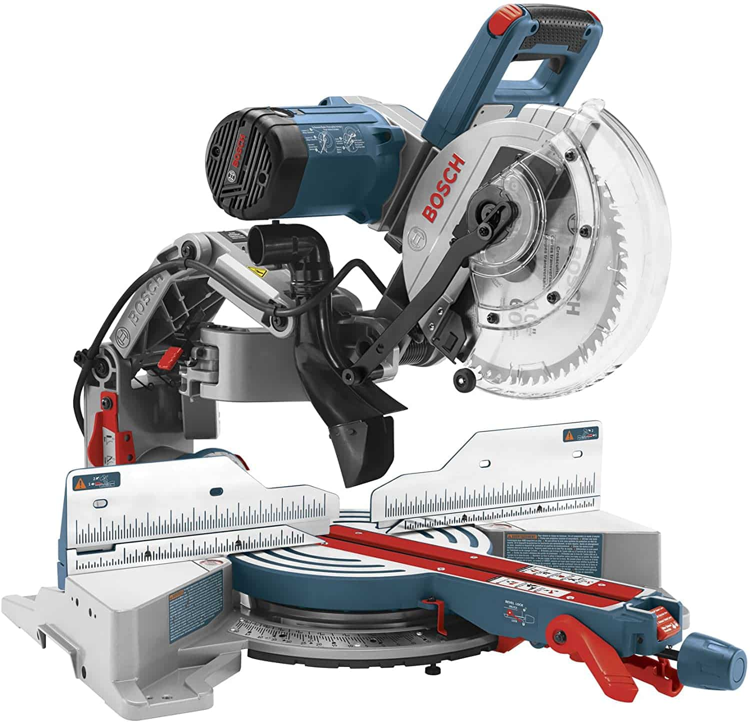 bosch cm10gd compact miter saw isolated on white background