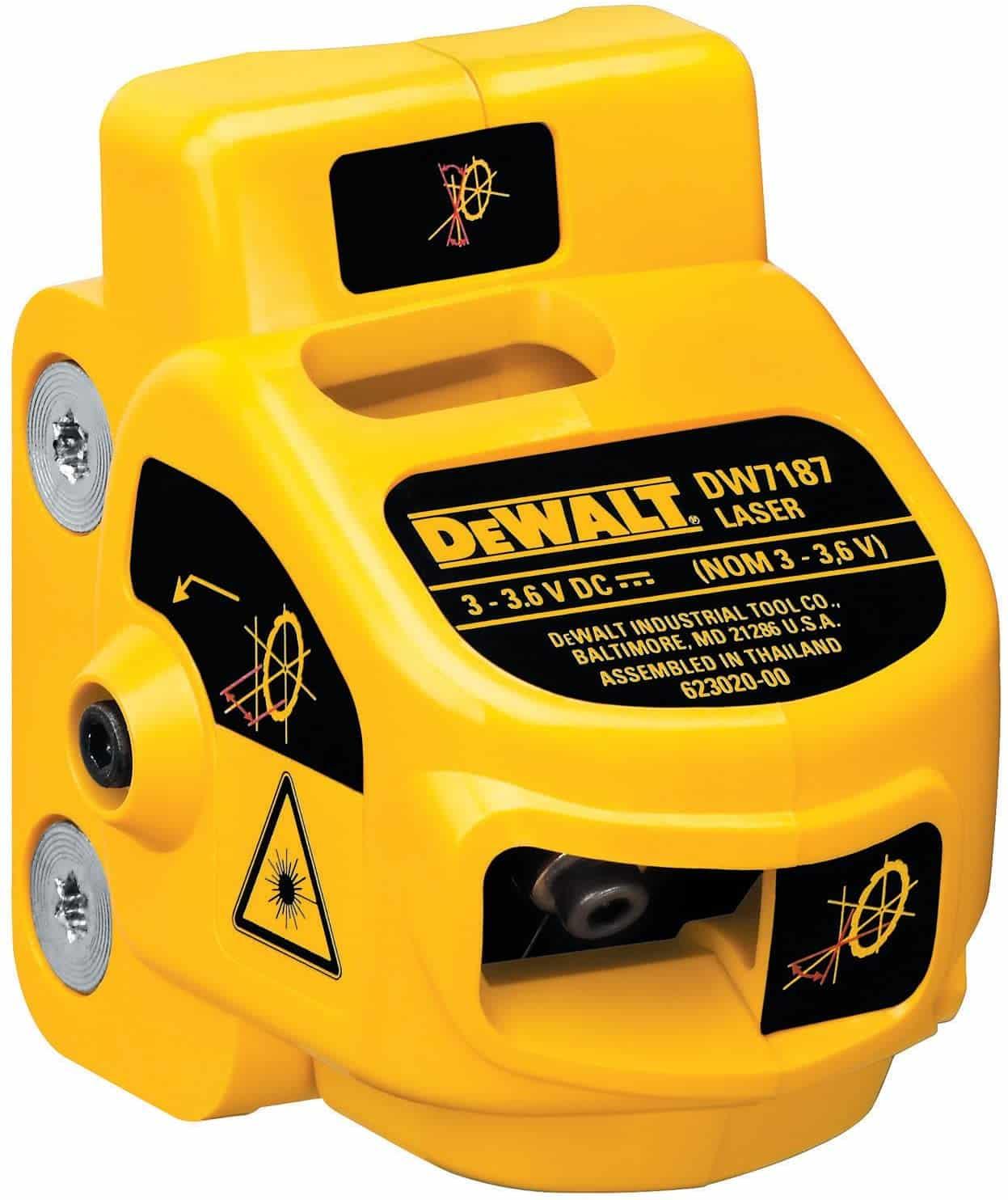 dewalt dw7187 adjustable miter saw laser system