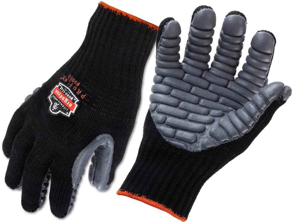 ergodyne roflex anti vibration work glove pair