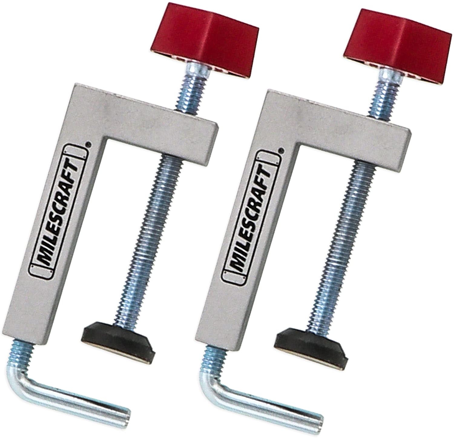 milescraft 4009 fence clamps in silver color