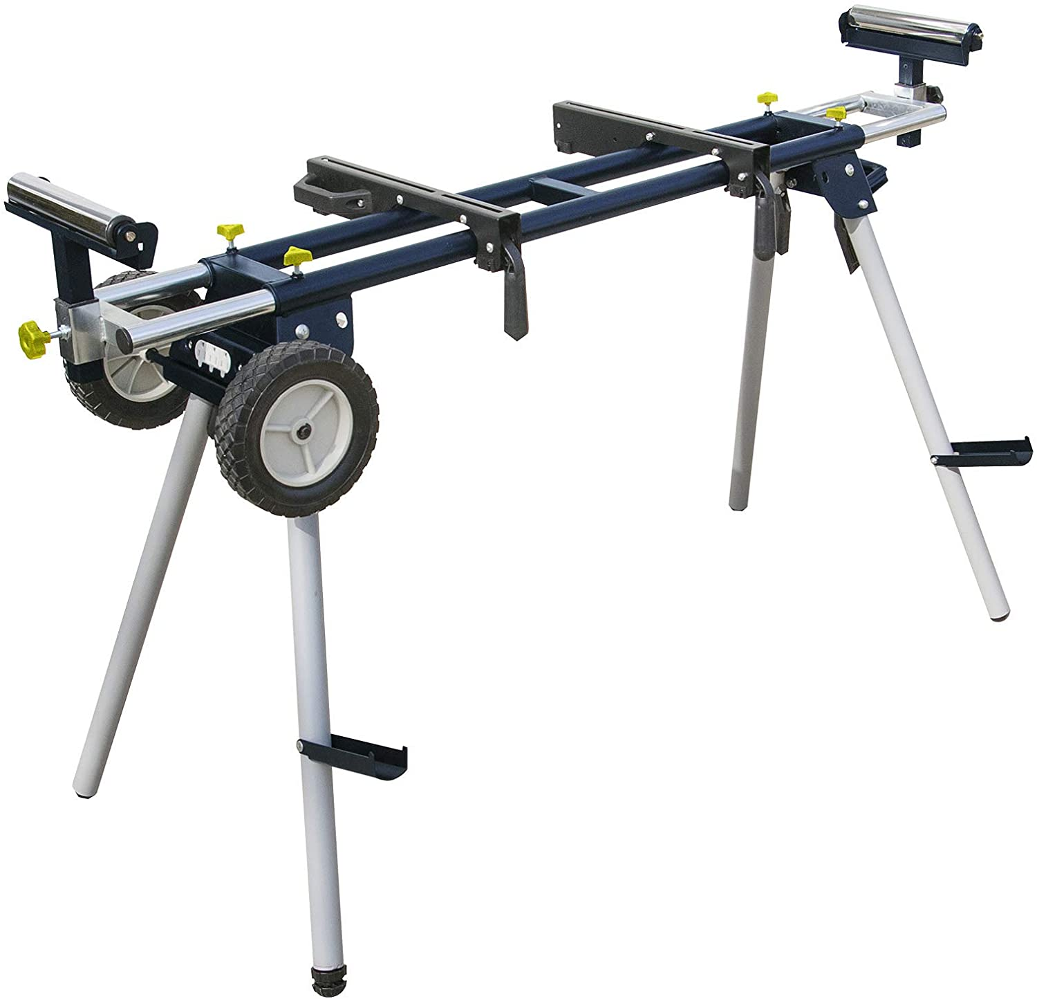 powertec mt4000 miter saw stand isolated on white background