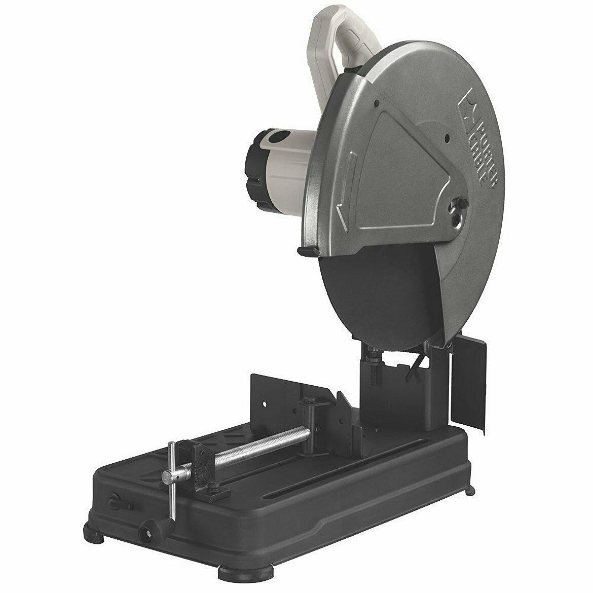 porter cable pce700 chop saw isolated on white background